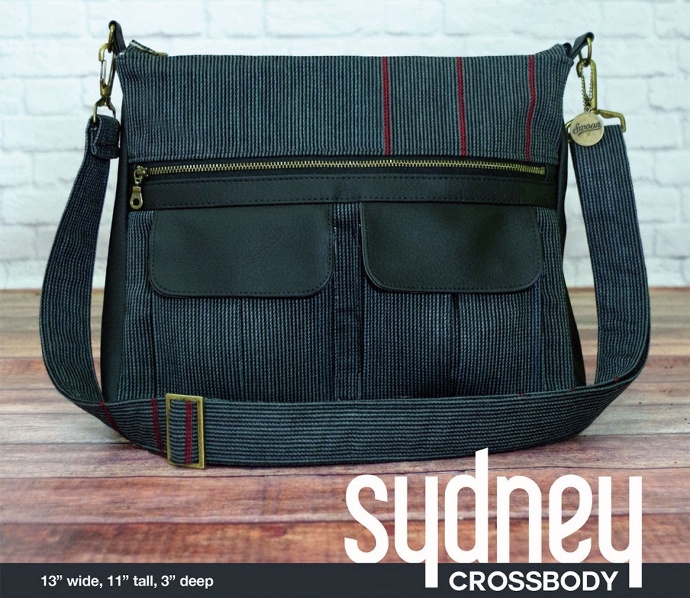 Sydney Crossbody Sewing Pattern From Swoon