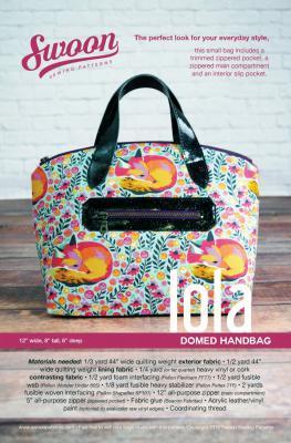 Lola Domed Handbag Sewing Pattern From