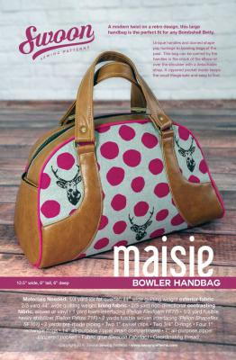 CLOSEOUT...Maisie Bowler Handbag sewing pattern from Swoon