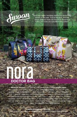 Nora Doctor Bag sewing pattern from Swoon