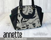 Annette Satchel Handbag sewing pattern from Swoon 2