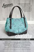 CLOSEOUT...Charlotte City Tote sewing pattern from Swoon