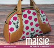 CLOSEOUT...Maisie Bowler Handbag sewing pattern from Swoon 2
