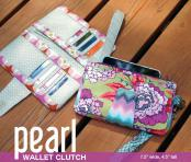 Pearl Wallet Clutch sewing pattern from Swoon 2