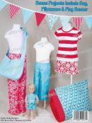Pajama Pants for Kids sizes 5 - 14 sewing BOOK  by Cindy Taylor Oates 2