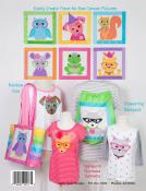 Sew Cute Critters pattern book by Cindy Taylor Oates of Taylor Made Design 2