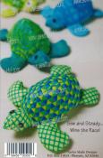 Turtle Pincushion pattern booklet by Cindy Taylor Oates 2