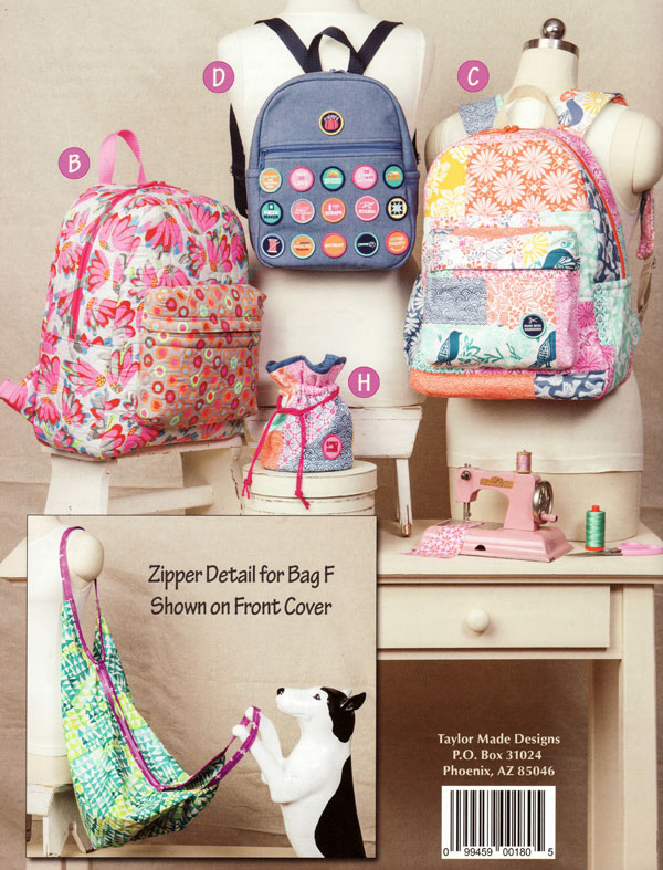 Backpacks-and-Bindles-sewing-pattern-book-Taylor-Made-Designs-back