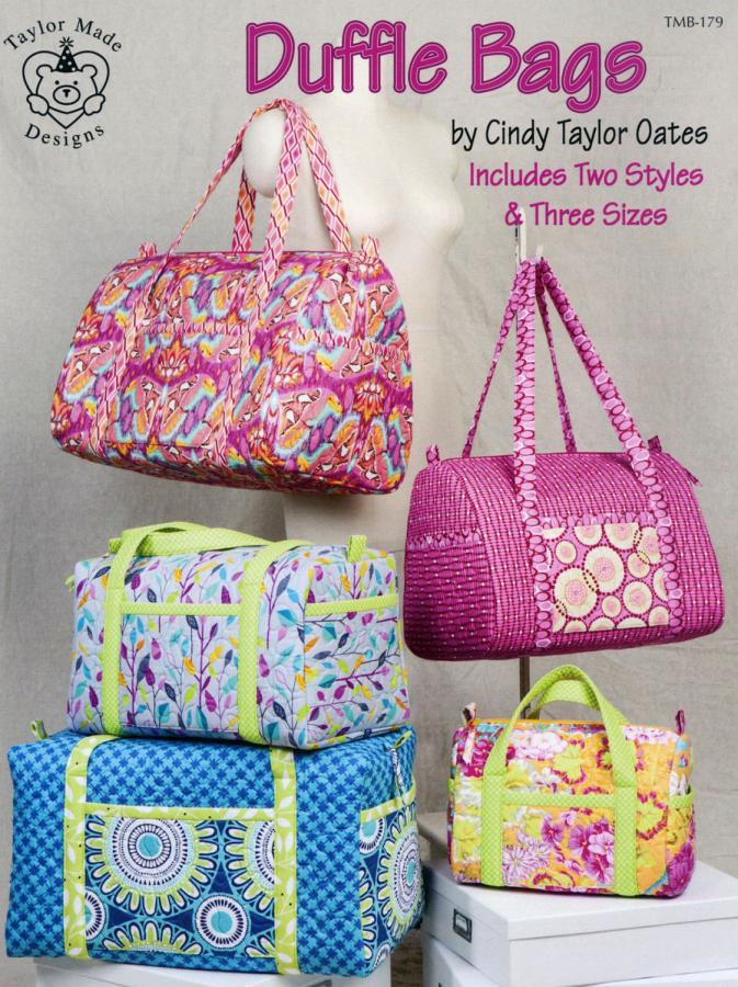 Duffle-Bags-sewing-pattern-book-Taylor-Made-Designs-front