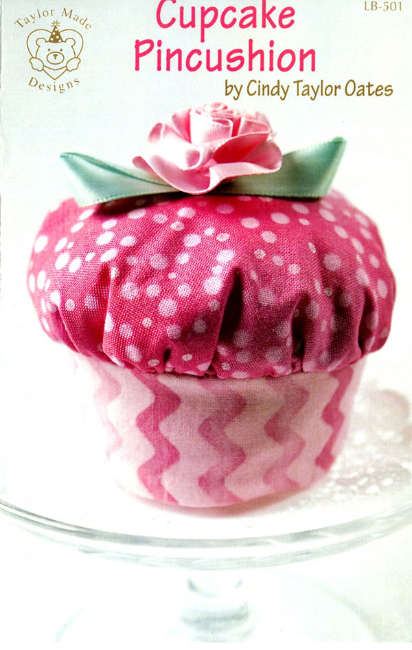 Cupcake-Pincushion-sewing-pattern-Taylor-Made-Designs-front