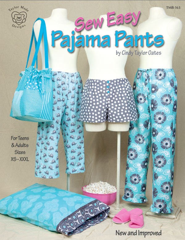 INVENTORY REDUCTIONSew Easy Pajama Pants By Cindy Taylor Oates New Pajama Pants Pattern