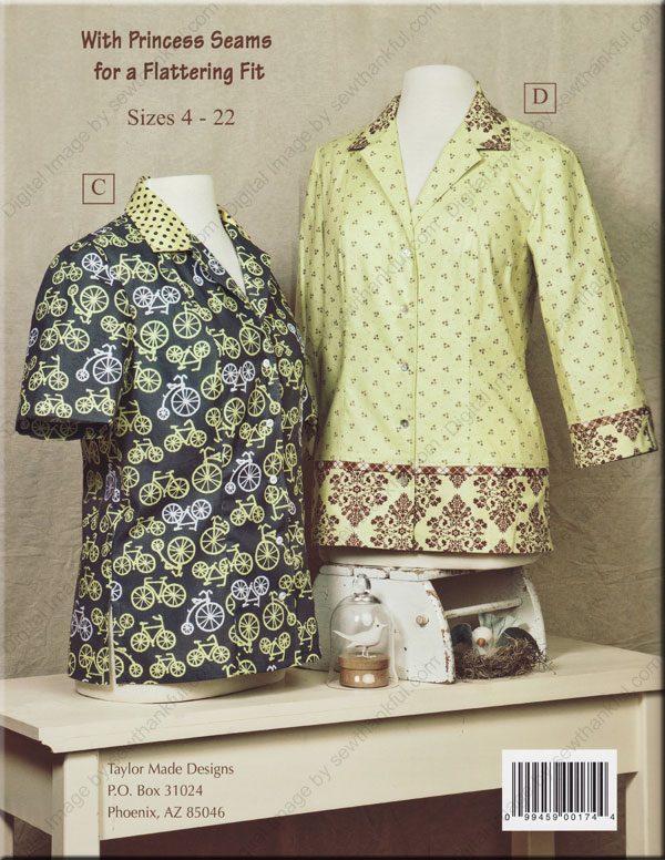 The New Camp Shirt Sewing Pattern Book By Cindy Taylor Oates