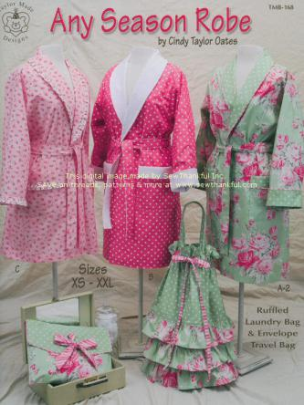 Any Season Robe pattern book by Cindy Taylor Oates