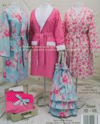 Any Season Robe pattern book by Cindy Taylor Oates 1