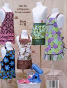 Little Retro Aprons for Kids pattern book by Cindy Taylor Oates of Taylor Made Designs 2