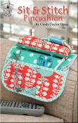 Sit & Stitch Pincushion pattern booklet by Cindy Taylor Oates
