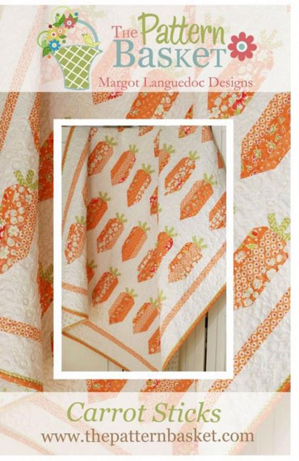 Carrot Sticks quilt sewing pattern from The Pattern Basket