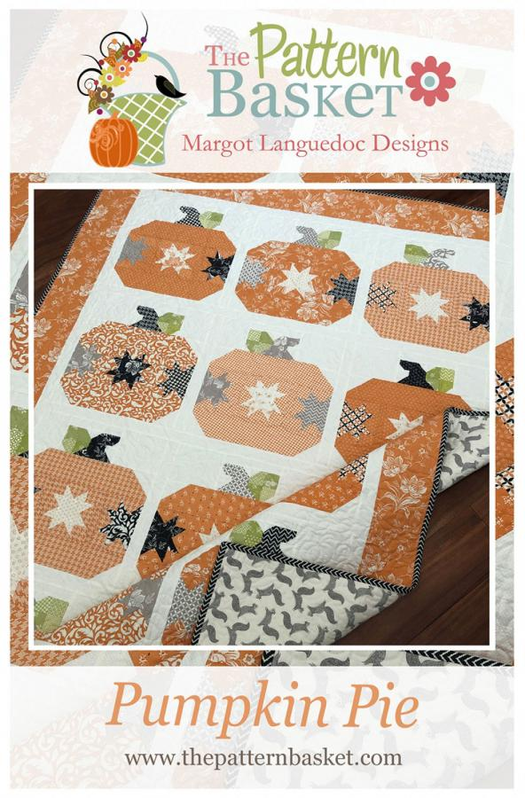 Pumpkin Pie quilt sewing pattern from The Pattern Basket