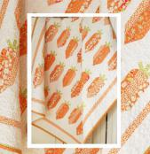 Carrot Sticks quilt sewing pattern from The Pattern Basket 2