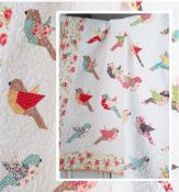 Feathers quilt sewing pattern from The Pattern Basket 2