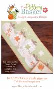 Hocus Pocus Table Runner ADD-ON quilt sewing pattern from The Pattern Basket