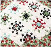 Let It Snow quilt sewing pattern from The Pattern Basket 2