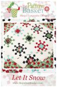 Let It Snow quilt sewing pattern from The Pattern Basket