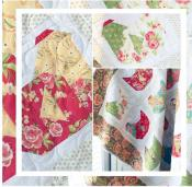 Nesting quilt sewing pattern from The Pattern Basket 2