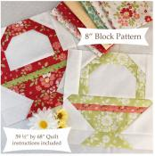 Pretty Little Baskets quilt sewing pattern from The Pattern Basket 2