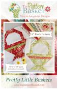 Pretty Little Baskets quilt sewing pattern from The Pattern Basket