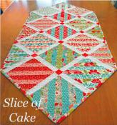 Slice of Cake table runner sewing pattern from The Pattern Basket 2