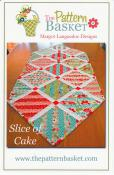 Slice of Cake table runner sewing pattern from The Pattern Basket