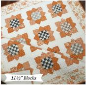 Sunflower Seeds quilt sewing pattern from The Pattern Basket 2