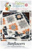 Sunflowers quilt sewing pattern from The Pattern Basket