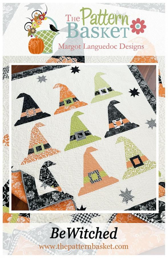 Bewitched quilt sewing pattern from The Pattern Basket