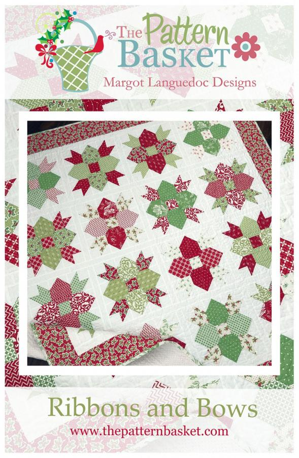 Ribbons and Bows quilt sewing pattern from The Pattern Basket