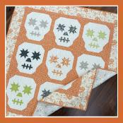 Candy Skulls quilt sewing pattern from The Pattern Basket 2