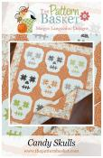 Candy Skulls quilt sewing pattern from The Pattern Basket