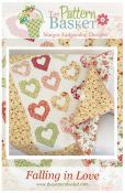 Falling In Love quilt sewing pattern from The Pattern Basket