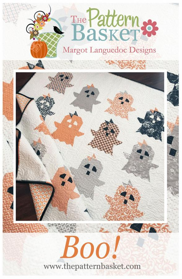 INVENTORY REDUCTION...Boo! quilt sewing pattern from The Pattern Basket