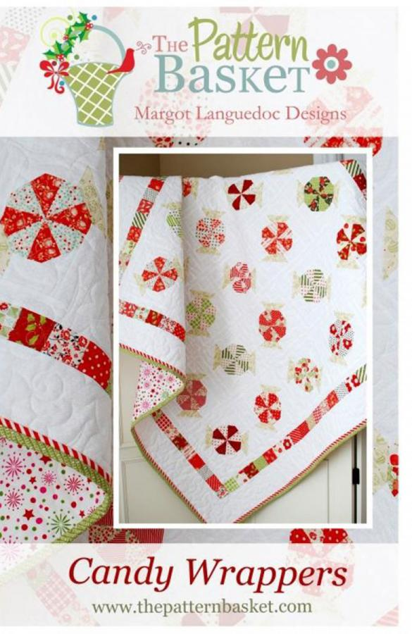 Candy Wrappers quilt sewing pattern from The Pattern Basket