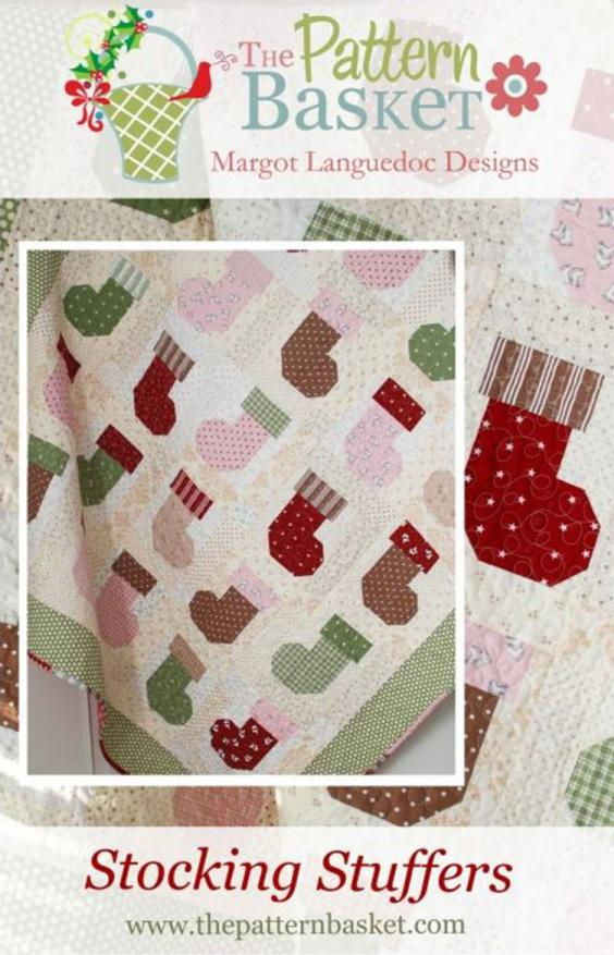 Stocking Stuffers quilt sewing pattern from The Pattern Basket