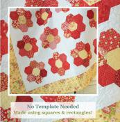 Big Honey Bee Blooms quilt sewing pattern from The Pattern Basket 2
