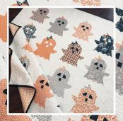 Boo! quilt sewing pattern from The Pattern Basket 2