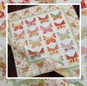 Butterflies quilt sewing pattern from The Pattern Basket 2