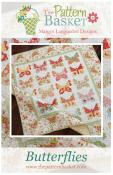 Butterflies quilt sewing pattern from The Pattern Basket