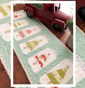 Christmas Jars Table Runner quilt sewing pattern from The Pattern Basket 2