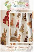 Country Bunnies quilt sewing pattern from The Pattern Basket