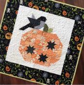 INVENTORY REDUCTION...Pumpkin Season quilt sewing pattern from The Pattern Basket 2