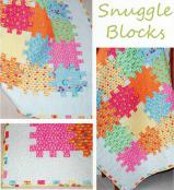Snuggle Blocks quilt sewing pattern from The Pattern Basket 2